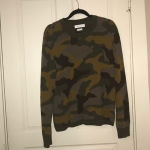 Men's Urban Outfitters Camo Sweater